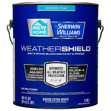 Exterior Paint Lowes - shop hgtv home by sherwin williams weathershield tintable flat