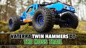 vaterra ascender jeep comanche pro vaterra twin hammers dt through leaves over roots rc rctruck