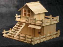 mansion blueprints ice cream stick craft house popsicle plans free model ideas
