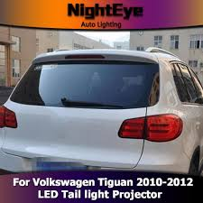 volkswagen light blue nighteye vw tiguan tail lights 2010 2012 tiguan led tail light