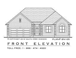 House Plans One Level by 100 Front View House Plans 68 Best Triplex House Design
