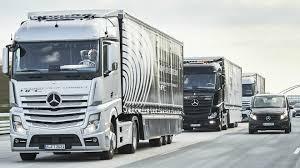 semi truck manufacturers 2017 mercedes benz trucks highway pilot connect youtube