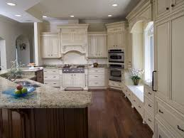 granite countertop kitchen ideas with dark brown cabinets types