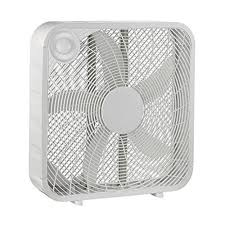 Boostwaves 20 In White Box High Velocity Fan With 3 Setting Speeds