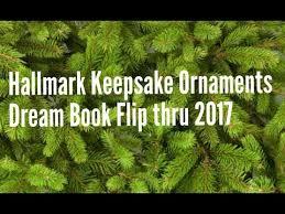 hallmark keepsake ornaments 2017 book flip thru