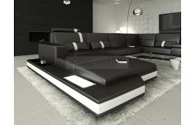 wohnlandschaft u form mit schlaffunktion mega wohnlandschaft prato xxl mit beleuchtung xxl big sofa miami