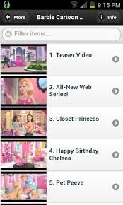 download barbie cartoon videos android appszoom