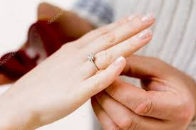 betrothal ring with betrothal ring stock photo 0635925410 57622713
