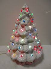 ceramic christmas tree lights vintage new ebay