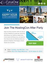 San Diego Convention Center Floor Plan by Cyrusone We Are Highbandwidth