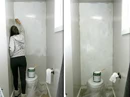 faux painting ideas for bathroom how to install a faux shiplap wall making manzanita