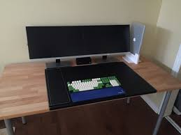Computer Game Desk by Minimal Desk X Post From R Battlestations Minimalism