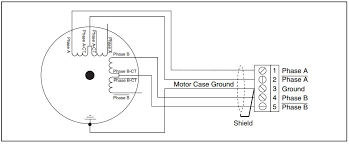 wiring diagram 6 wire stepper motor driver ic l293d wiring