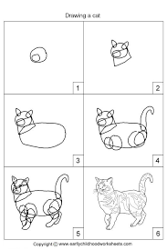 drawing a cat