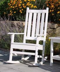seaside porch rocker and side table outdoor patio furniture from