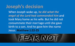 fear of what people think about me matthew 1 ppt download