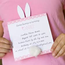one charming party birthday party ideas u203a bunny party invites