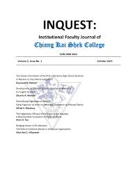 inquest cks college