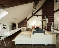 wohnzimmer mit dachschr ge wohnzimmer einrichten gemütlich unter dachschräge dachschräge 2