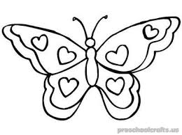 butterfly coloring pages free u2013printable animals butterfly coloring pages for toddler