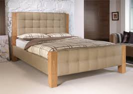 bedroom adorable upholstered beds fabric brown bed frame wood
