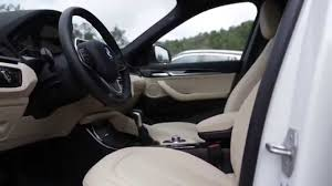 2016 bmw x1 xdrive28i review the all new 2016 bmw x1 xdrive28i interior design in beige