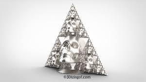 sierpinski skulls by dizingof u2013 3dizingof com
