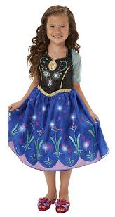 amazon com disney frozen anna musical light up dress toys u0026 games