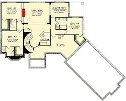 ranch floor plans with walkout basement ranch home plan with walkout basement 89856ah architectural