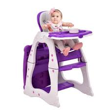 Toddler Feeding Table by Goplus 3 In 1 Baby High Chair Convertible Play Table Seat Booster