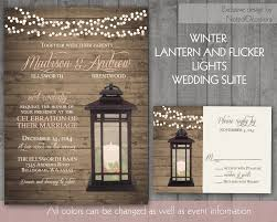 Wedding Invitations With Rsvp Cards Included 35 Rustic Winter Wedding Invitations Vizio Wedding