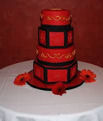 top red u0026 gold cakes cakecentral com