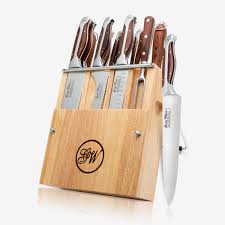 12 piece cutlery knife set executive chef series gunter wilhelm