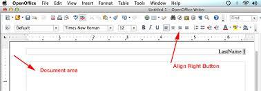 Resume Open Office Mla Format Openoffice Mla Format