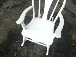 White Wooden Rocking Chair For Nursery White Wooden Rocking Chair White Painted Wooden Rocking Chair