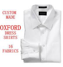 aliexpress com buy custom made oxford mens dress shirts french
