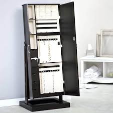 Pier One Mirror Jewelry Armoire Wall Mounted Locking Mirrored Jewelry Armoire Driftwood Kohls