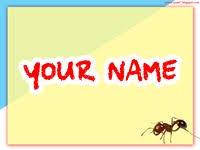 template hewan semut download powerpoint gratis