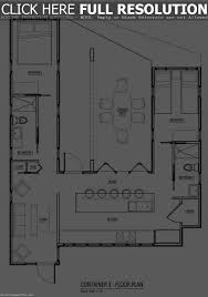 Shipping Containers Floor Plans by 6 Unique Shipping Container House Floor Plans Floor Plan Ideas