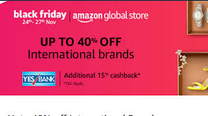 black friday cyber monday amazon black friday and cyber monday deals in india amazon global store