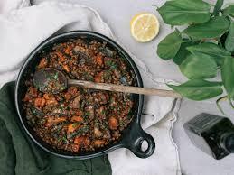 vegan mushroom gravy recipe dishmaps buttered balsamic lentils recipe viva