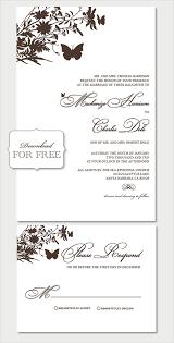 Wedding Invitation Sample Wedding Invitation Template Free Download Kmcchain Info