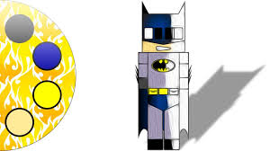 batman minecraft character from justice league superheroes