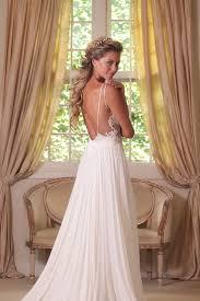flowy wedding dresses backless wedding dresses backless flowy wedding dress on the