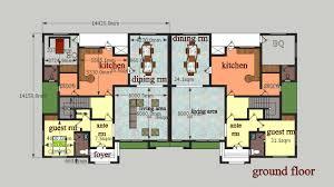 3 bedroom semi detached house plan in nigeria nrtradiant com