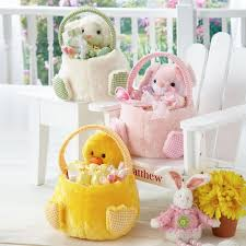 plush easter baskets 75 best easter with lillian vernon images on lillian