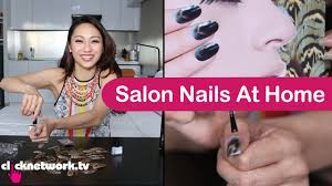 salon nails at home tried and tested ep48 youtube