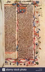 first page of st matthew u0027s gospel after a 15th century