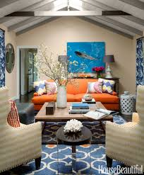Western Home Decor Ideas by Happy Colorful California House Colorful Decorating Ideas