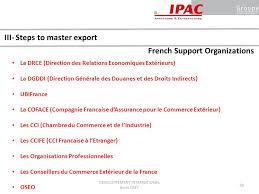 chambre de commerce française à l étranger 1 international marketing strategies i 20 2 lesson 2h00 3